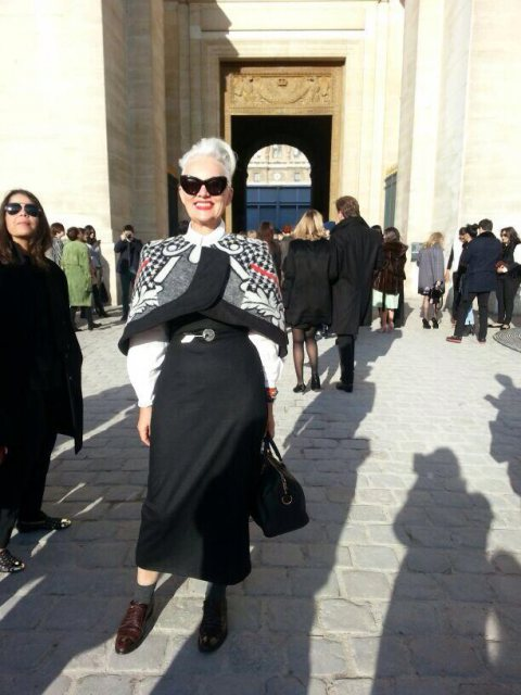 SA Elle Editor, Jackie Burger in Paris