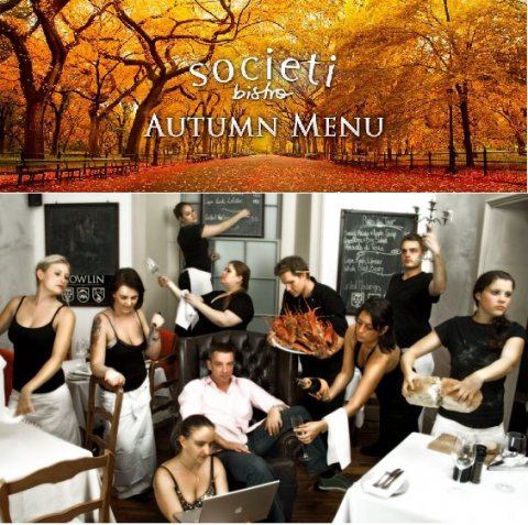 Societi Bistro Autumn Menu Restaurant Review