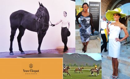 Stylish day at the Veuve Cliquot Masters Polo