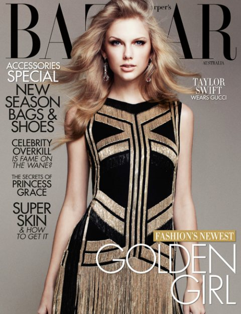 Taylor Swift Covers Harper's Bazaar Australia