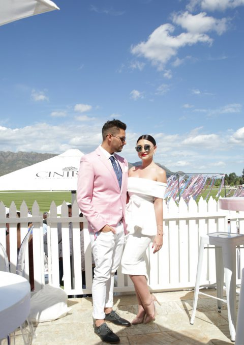 The Cintron Pink Polo 2016
