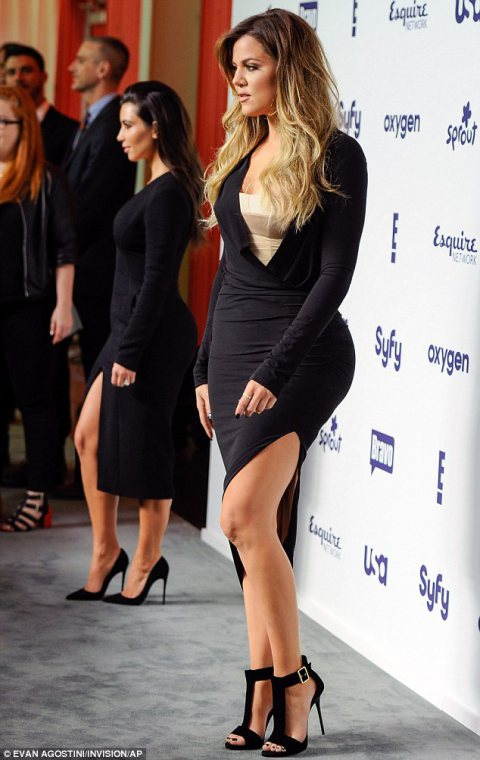The Kardashians in The LBD!