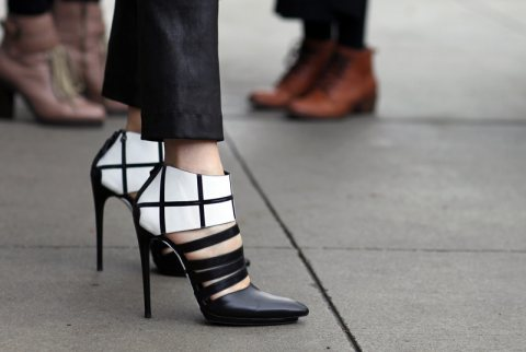 Tuesday Shoesday: The Monochrome Heel