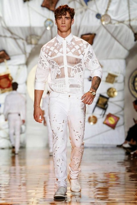 Versace Men Spring/Summer 2015 Milan Fashion