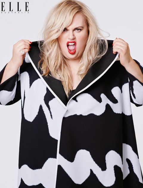 We Love Rebel Wilson on The Cover Of ELLE Australia.