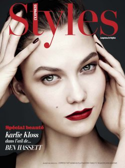 Karlie Kloss for L'Express