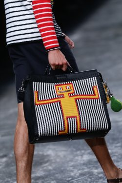 The It Bag for Men By Fendi MBFW