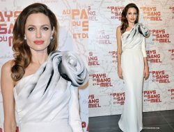 "Angelina Jolie: Best Dressed at ""Land of Blood and Honey"" Pr"