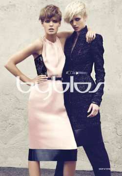 Byblos Fall 2012 campaign