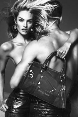 Candice Swanepoel for Versace Jeans Winter 2012