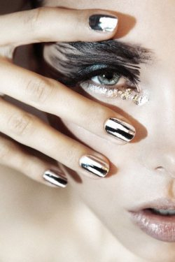 Chrome Nails @ Skintonic by Joanne