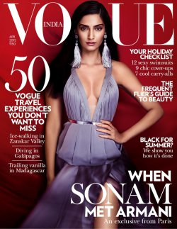 Cover of the Month: Vogue India April 2015