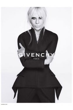 Donatella Versace for Givenchy
