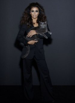 Eva Longoria goes sexy for cat food campaign!