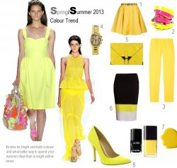 Get the bright summer look