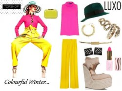 Get the colour blocked look
