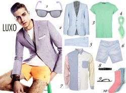 Get the Pastel Look for Men