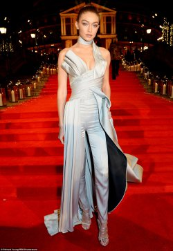 Gigi Hadid Rules The Red Carpet at British Fashion Awards