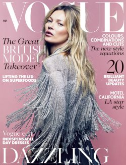 Kate Moss in Topshop for Vogue UK May 2014