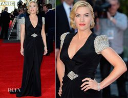 Kate Winslet at the Titanic 3D Premiere