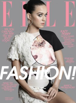 Katy Perry For Elle March 2015