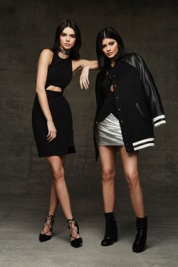 Kendall + Kylie Jenner's Holiday Looks at Topshop