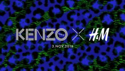 Kenzo x H&M collection lookbook unveiled