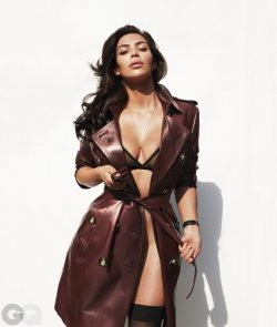 KIM KARDASHIAN STRIPS DOWN FOR GQ!