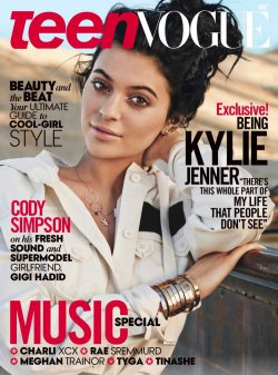 Kylie Jenner for Teen Vogue