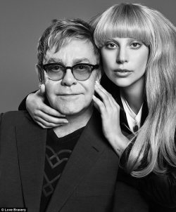 Lady Gaga and Elton John Partner on Macy's Fashion Line
