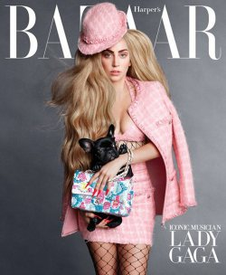 Lady Gaga covers Harpers Bazaar September Issue
