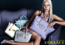 Lady Gaga in new Versace shoot