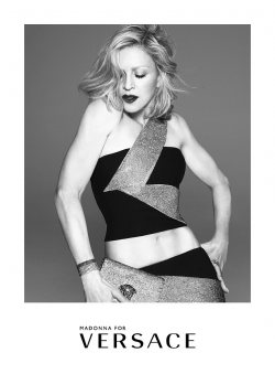 Madonna face of Versace's new fashion campaign