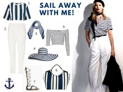 Get the look - Sail Away with Me....