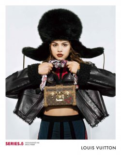 Selena Gomez Goes Cool-Girl For Louis Vuitton!