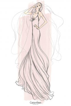 Sketches for Lady Gaga's Big Day!