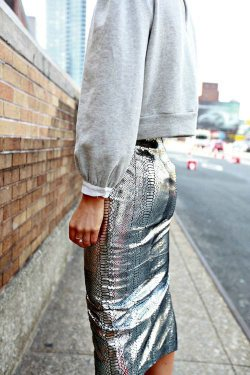 Metallics on the Street
