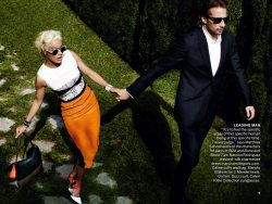 Swept Away with Vogue December 2012