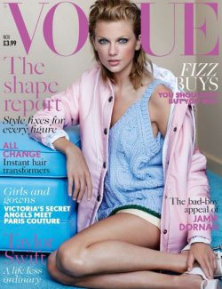 Taylor Swift On The Cover Of Vogue UK November 2014