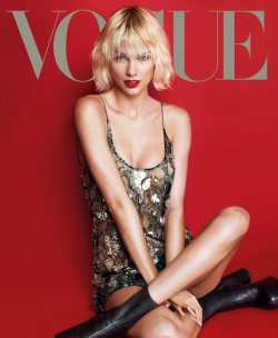 Shoots - Taylor Swift Turns Supermodel