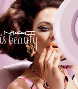 The Latest MAC Cosmetics Campaigns by Miles Aidridge