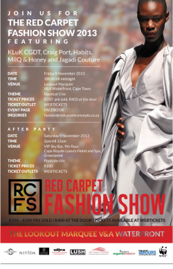 The Red Carpet Fashion Show 2013
