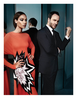 Tom Ford and Joan Smalls for WSJ Magazine