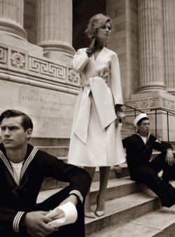 Vogue takes New York back in time...