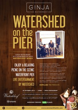 Watershed on the Pier Event! Get your tickets!