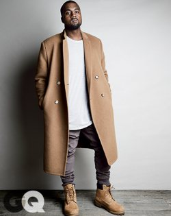 Kanye West Covers GQ August 2014