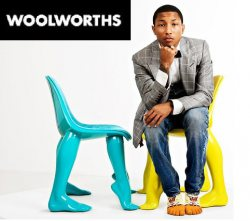 Woolworths collaborates with Pharrel Williams