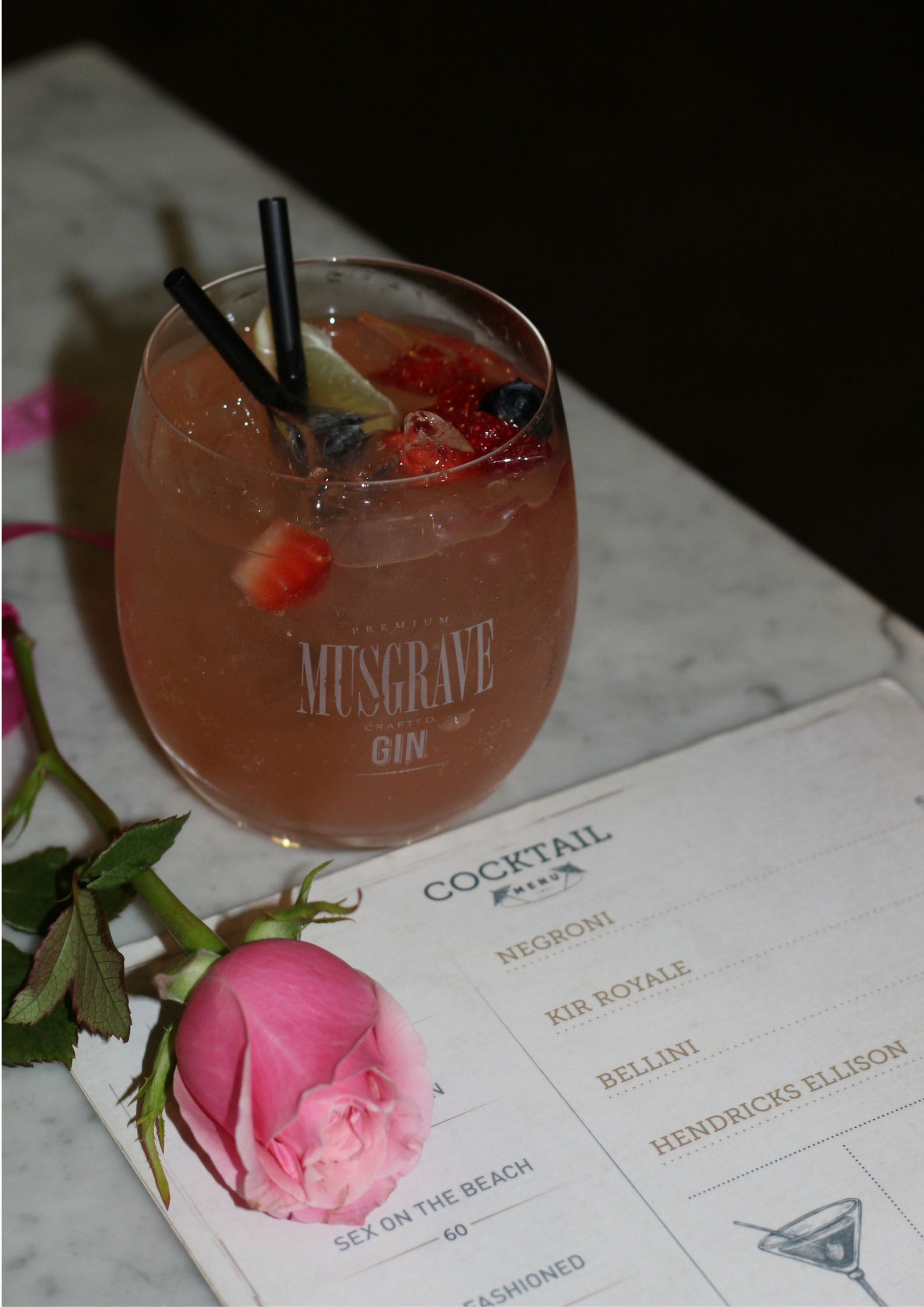 Musgrave Gin at Seelan Cape Town