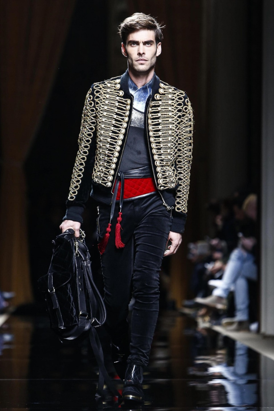 balmain mens fashion