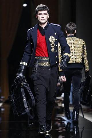 balmain fashion